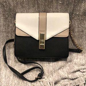 Aldo color block faux leather purse